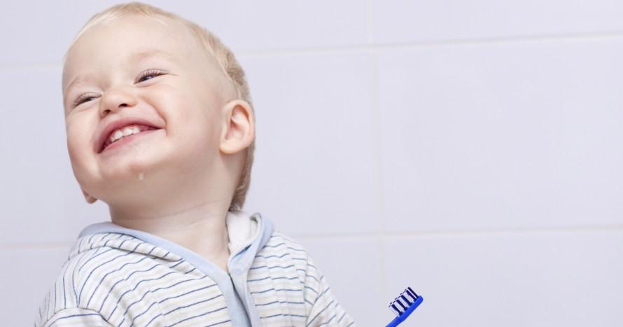 pojke tandborste